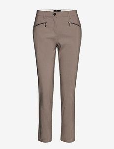Casual pants - slim fit bukser - moon rock