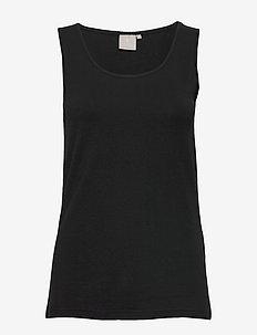 Sleeveless-jersey - Ærmeløse toppe - black