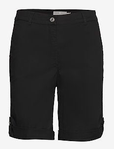 Casual shorts - spodenki chino - black