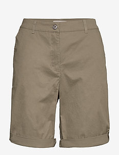 Casual shorts - chino shorts - deep lichen green