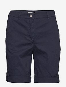 Casual shorts - spodenki chino - midnight blue