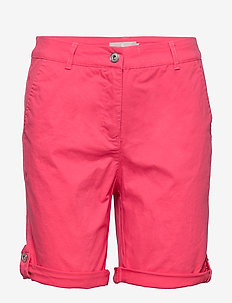 Casual shorts - chino short - rouge red