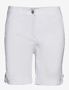 Casual shorts - chino shorts - white