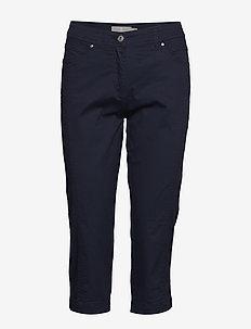 Capri pants - spodnie proste - midnight blue