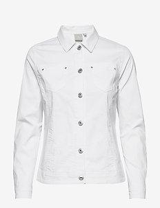 Jacket - jeansjackor - white