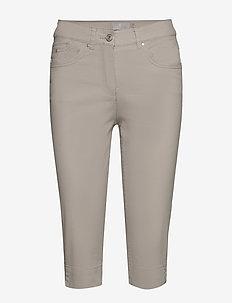 Capri pants - rette bukser - sand