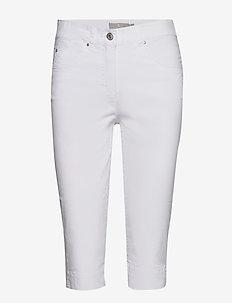 Capri pants - spodnie proste - white