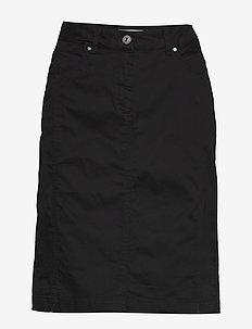 Casual skirt - midi skjørt - black