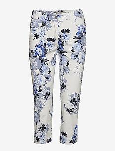 Capri pants - rette bukser - midnight blue