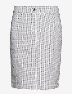 Casual skirt - WHITE