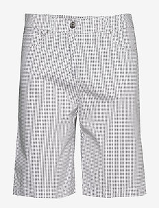 Casual shorts - bermudy - white