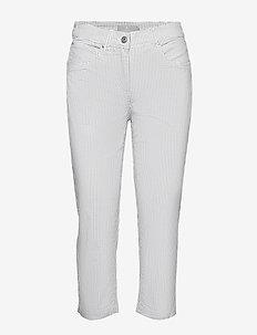 Capri pants - rette bukser - white