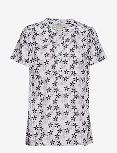 Shirt s/s Woven - BLACK