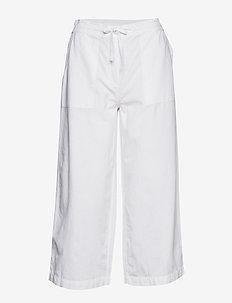 Capri pants - vida byxor - white