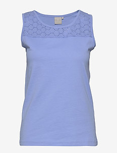 Tunic-jersey - basic t-shirts - vista blue