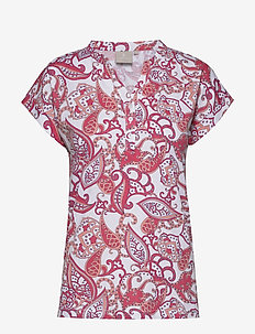 T-shirt s/s - t-shirts - rouge red