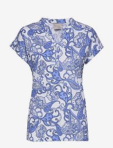 T-shirt s/s - t-shirts - vista blue