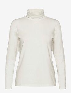 T-shirt l/s - pologenser - offwhite
