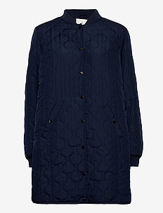Coat Outerwear Light - quilted jassen - midnight blue