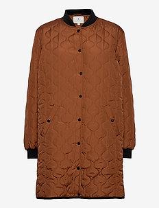 Coat Outerwear Light - quilted jakker - mocha bisque