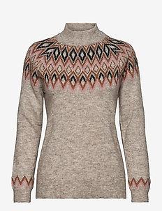 Pullover-knit Light - gensere - desert melange