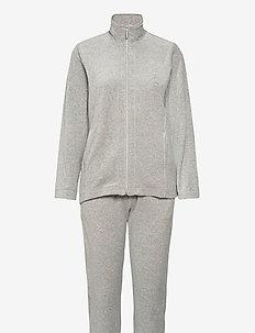 Set-sweat - drakter - grey melange