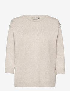 Pullover-knit Light - trøjer - desert melange