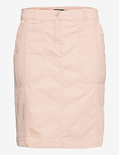 Casual skirt - midinederdele - pale blush