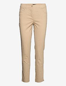 Casual pants - slim fit bukser - safari