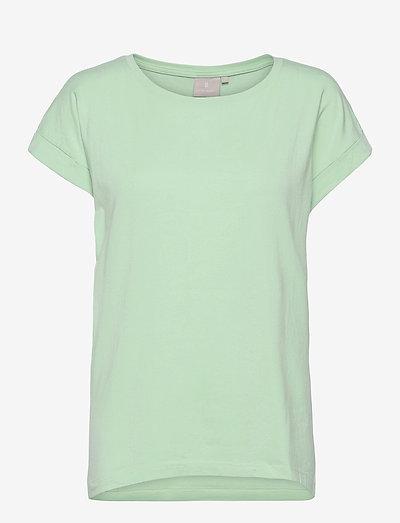 T-shirt s/s - t-shirts - lichen