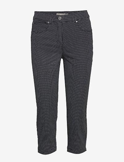 Capri pants - bukser med lige ben - midnight blue
