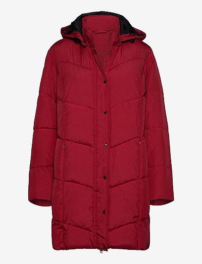 Coat Outerwear Heavy - dynefrakke - red
