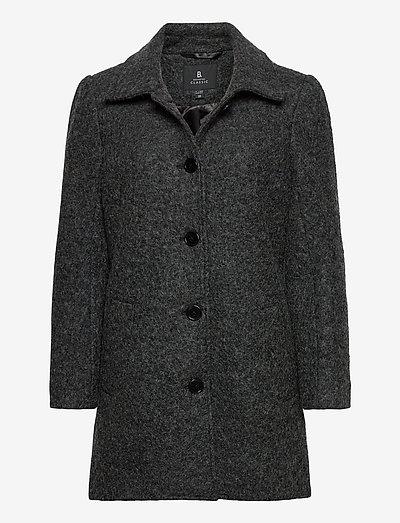 Jacket Outerwear Heavy - uldfrakker - dk. grey melange