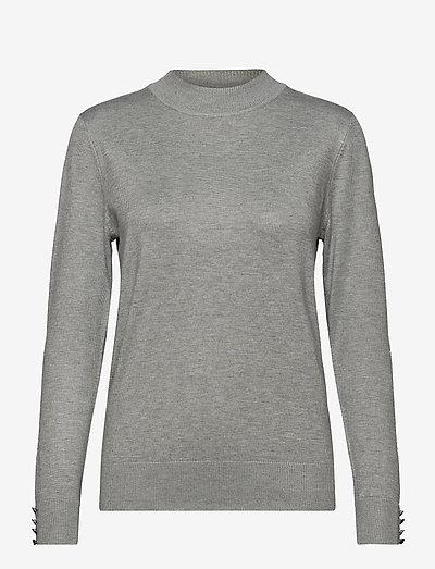 Pullover-knit Light - trøjer - light grey melange