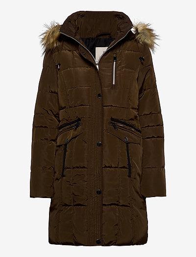 Coat Outerwear Heavy - parkacoats - olive