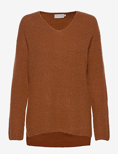Pullover-knit Light - trøjer - mocha bisque