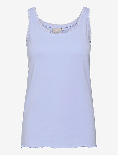 Sleeveless-jersey - Ærmeløse toppe - serenity blue