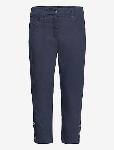 Capri pants - capri bukser - midnight blue