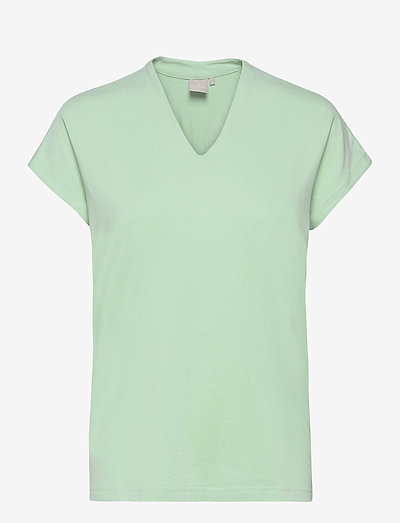 Sleeveless-jersey - t-shirts - lichen