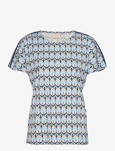 T-shirt s/s - t-shirts - serenity blue