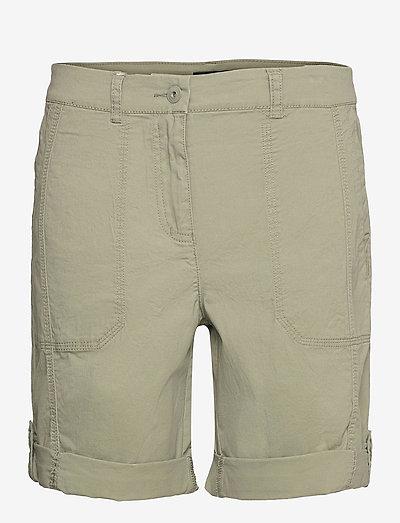 Casual shorts - casual shorts - deep lichen green