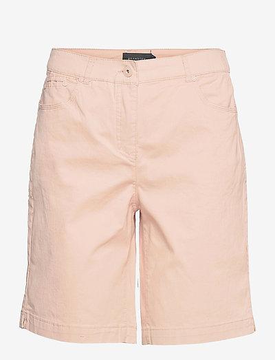 Casual shorts - chino shorts - pale blush