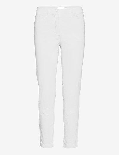 Casual pants - slim fit bukser - white