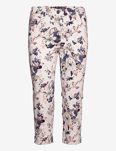 Capri pants - capri bukser - pale blush