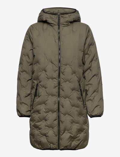 B. Copenhagen Coat Outerwear Light - manteaux d'hiver - grape leaf