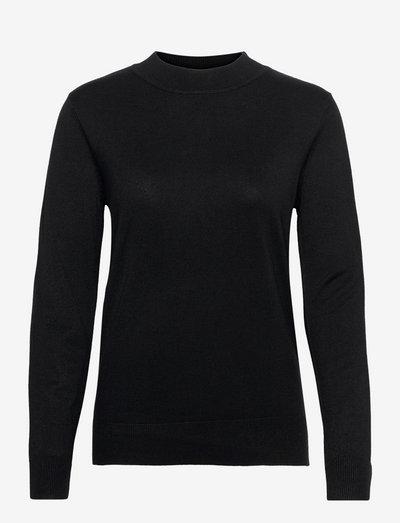 Pullover-knit Light - trøjer - black
