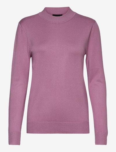 Pullover-knit Light - trøjer - dried rose