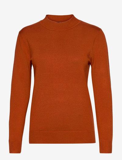 Pullover-knit Light - trøjer - ginger bread