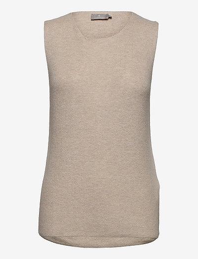 B. Copenhagen Slipover - vestes tricot - desert melange