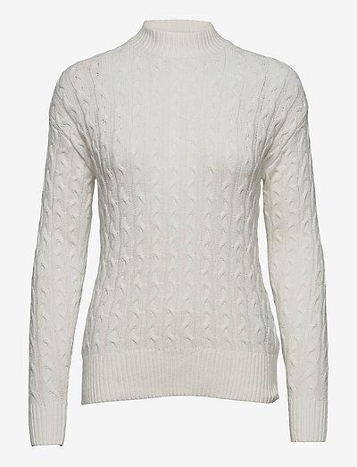 B. Copenhagen Pullover-knit Light - pulls à col roulé - offwhite